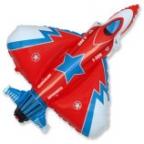 Шар Супер истребитель красный