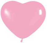 Шар Сердце Пастель Розовое /Ит