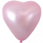 Шар Пневмохлопушка в розовой тубе металл тубе фольга