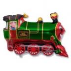 Шар Поезд зеленый