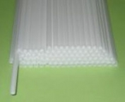 Палочка полимерная для шаров, флажков и сахарной ваты БЕЛАЯ