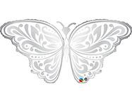 Шар П ФИГУРА 6 Бабочка серебро