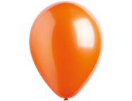Шар Оранжевый металл