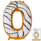 Цифра 0 Пончик в упаковке / Zero