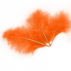 Перья Оранжевые