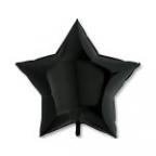 Шар Звезда Пастель Черный /  Black