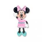 Шар А ХОД/P80 Минни платье розовое в горошек