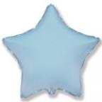 Шар Звезда Пастель Голубой / Blue