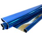Пленка Металл Синяя 190г 40мкм / рулон
